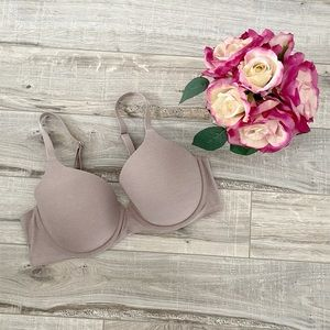 Aerie Real Sunnie Lightly Lined Nude Bra 38D